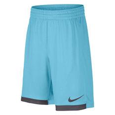 Nike Boys Dri FIT Trophy Shorts Blue XS, Blue, rebel_hi-res