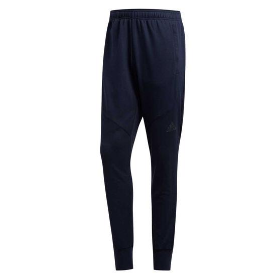 adidas Mens Prime Workout Track Pants, Blue, rebel_hi-res