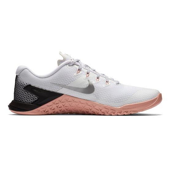 online store b5cc8 64215 Nike Metcon 4 Womens Training Shoes Black   White US 6, Black   White,