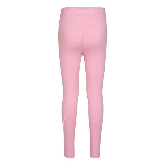 Nike Girls Sportswear Leg A See Tights, Pink/White, rebel_hi-res