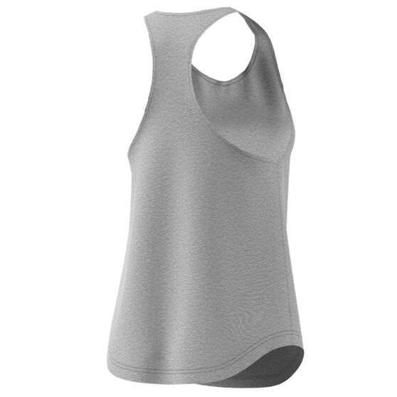adidas Womens Essentials Linear Tank, Grey, rebel_hi-res