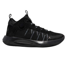 Nike Jordan Jumpman 2020 Mens Basketball Shoes Black/Silver US 7, Black/Silver, rebel_hi-res