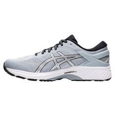 Asics GEL Kayano 26 4E Mens Running Shoes Grey/Silver US 7, Grey/Silver, rebel_hi-res