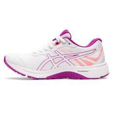 Asics GT 1000 LE D Womens Running Shoes White US 6, White, rebel_hi-res