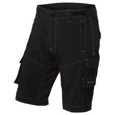 Goldcross Mens Shy Shorts Black XL, Black, rebel_hi-res