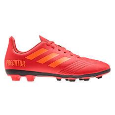 adidas Predator 19.4 FXG Kids Football Boots Red / Black US 11, Red / Black, rebel_hi-res