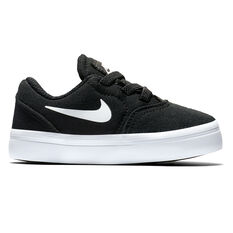 Nike SB Check Canvas Toddlers Shoes Black / White US 4, Black / White, rebel_hi-res