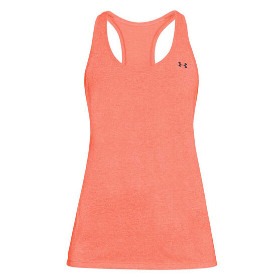 Under Armour Womens UA Microthread Train Twist Tank, Pink, rebel_hi-res