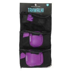 Tahwalhi 3 Piece Safety Pads Purple XS, Purple, rebel_hi-res