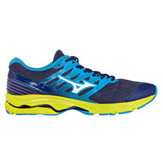 Mizuno Wave Prodigy 2 Mens Running Shoes Blue / Yellow US 9, Blue / Yellow, rebel_hi-res