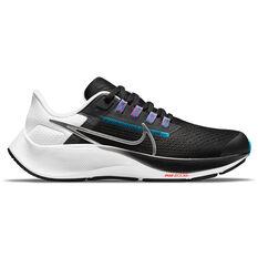 Nike Air Zoom Pegasus 38 Kids Running Shoes Black/Navy US 1, Black/Navy, rebel_hi-res