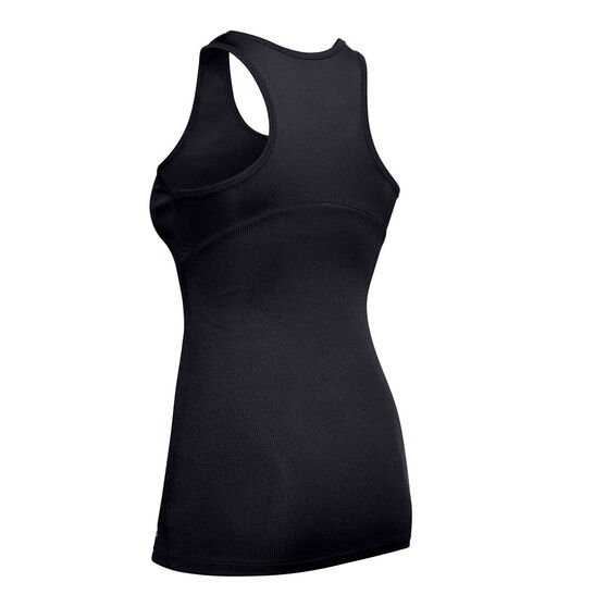 Under Armour Womens Victory Tank, Black, rebel_hi-res