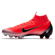 Nike Mercurial Superfly 6 Pro CR7 Mens Football Boots Red / Black US 7, Red / Black, rebel_hi-res