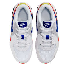 Nike Air Max Excee Kids Casual Shoes White/Red US 11, White/Red, rebel_hi-res