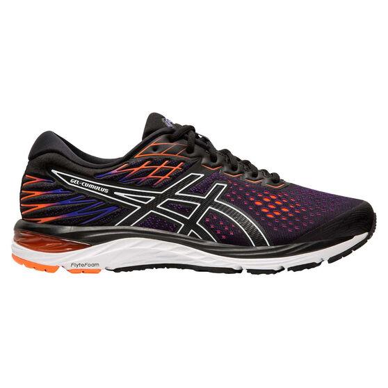 Asics GEL Cumulus 21 Mens Running Shoes, Black / Coral, rebel_hi-res