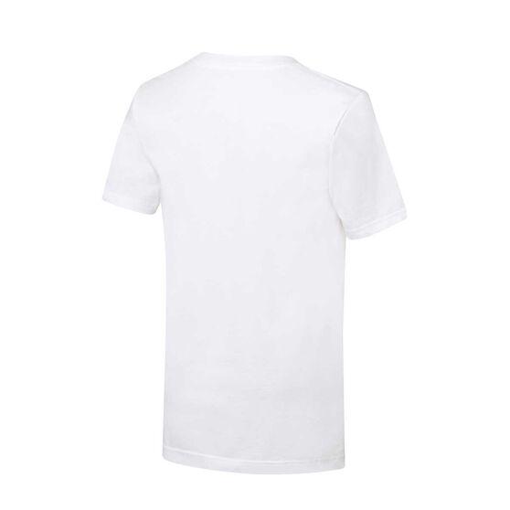 Nike Boys Air Jordan Tee, White, rebel_hi-res