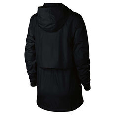 Nike Womens Sportswear Woven Jacket Black XS, Black, rebel_hi-res