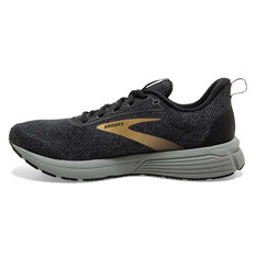 Brooks Anthem 3 Womens Running Shoes Black US 6.5, Black, rebel_hi-res