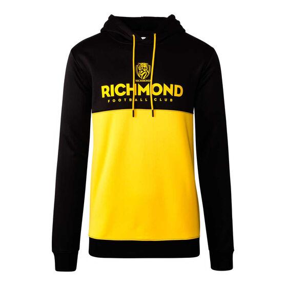 Richmond Tigers 2020 Mens Ultra Hoodie Black/Yellow L, Black/Yellow, rebel_hi-res