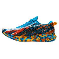 Asics GEL Noosa Tri 13 Mens Running Shoes Blue/Orabge US 8, Blue/Orabge, rebel_hi-res