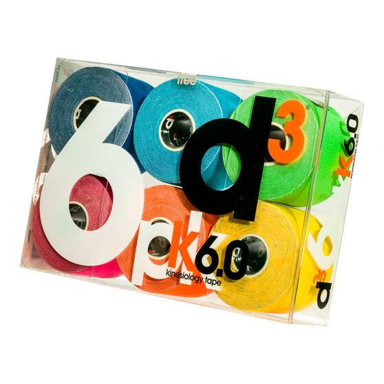 D3 K Tape 6 Pack Multi, , rebel_hi-res