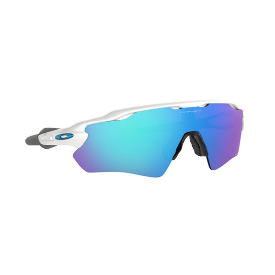 OAKLEY Radar EV Path Sunglasses - Polished White with PRIZM Sapphire, , rebel_hi-res
