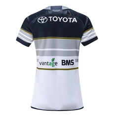 North Queensland Cowboys 2020 Womens Home Jersey, White / Navy, rebel_hi-res
