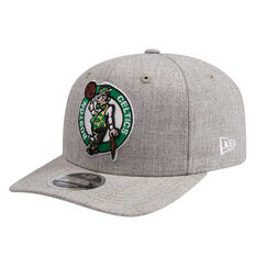 Boston Celtics New Era 9FIFTY Heather Drop Cap Grey M/L, Grey, rebel_hi-res
