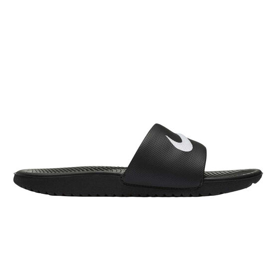 Nike Kawa Boys Slides, Black, rebel_hi-res