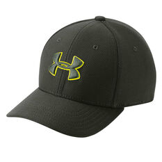 Under Armour Boys Blitzing 3.0 Cap Green / Yellow XS / S, Green / Yellow, rebel_hi-res