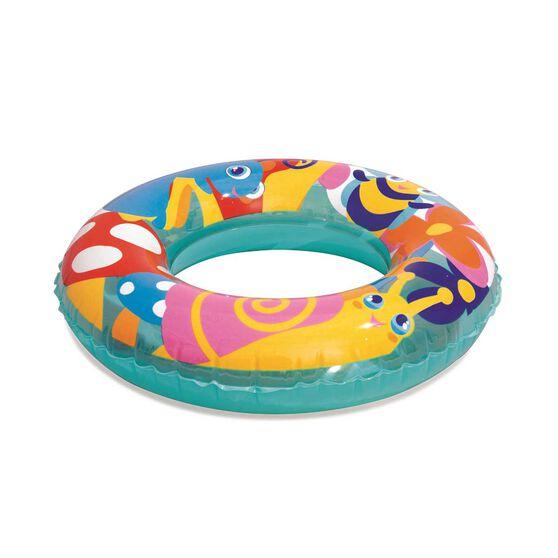 Bestway Inflatable Designer Swim Ring, , rebel_hi-res