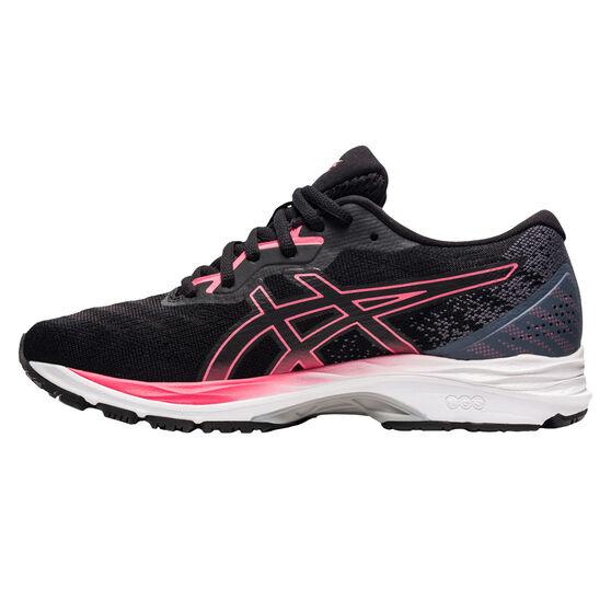 Asics GEL Ziruss 4 Womens Running Shoes, Black/Pink, rebel_hi-res