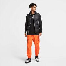 Nike Mens Down Filled Windrunner Vest Black XS, Black, rebel_hi-res