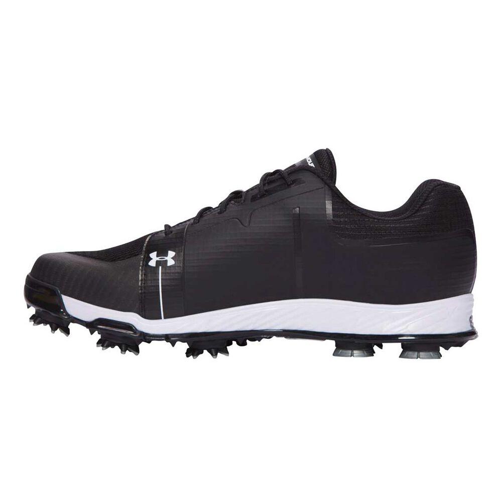 2508f85dca Under Armour Tempo Sport Mens Golf Shoes Black / White US 14 | Rebel ...