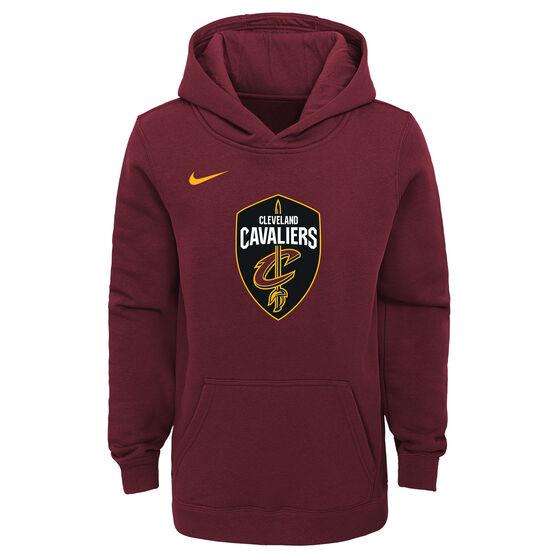 Nike Youth Cleveland Cavaliers Hoodie, Maroon, rebel_hi-res