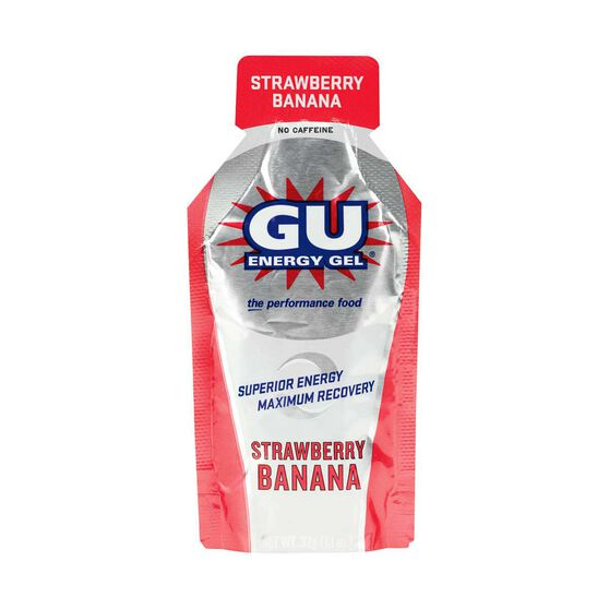 Gu  Strawberry Banana Energy Gel, , rebel_hi-res