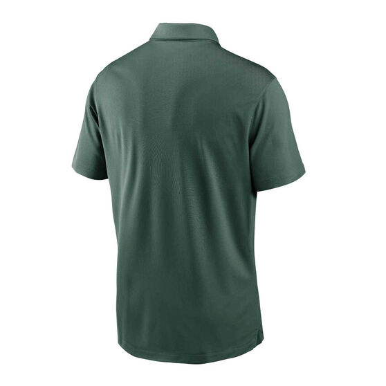 Green Bay Packers 2020 Mens Logo Essential Polo, Green, rebel_hi-res