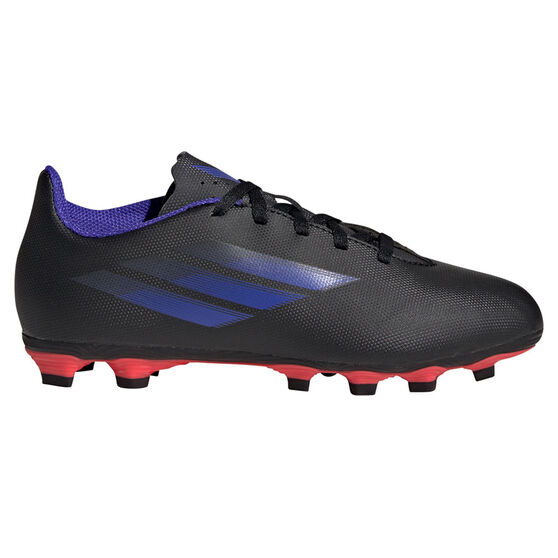 adidas X Speedflow .4 Football Boots, Black/Pink, rebel_hi-res