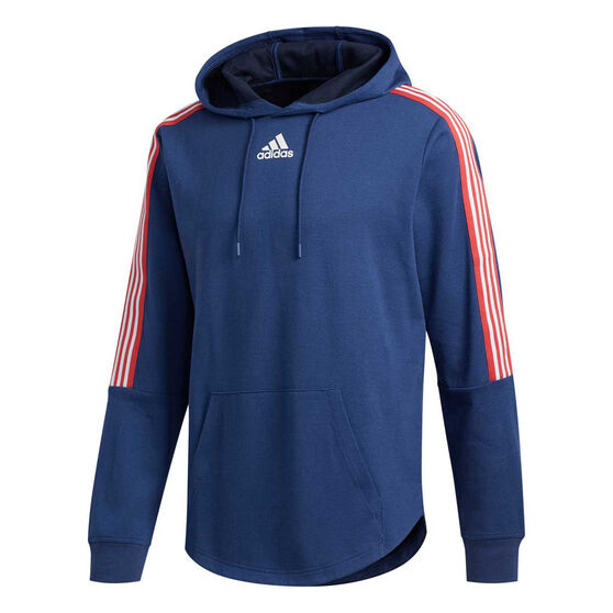 adidas Mens Post Game Hoodie, Blue, rebel_hi-res