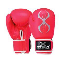 Sting Armafit Boxing Glove Pink 10oz, Pink, rebel_hi-res