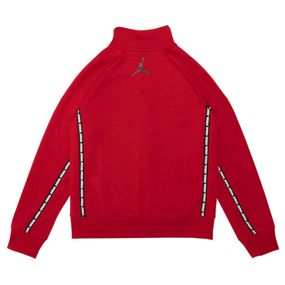 Nike Boys Jumpman Full Zip Track Jacket, Red, rebel_hi-res