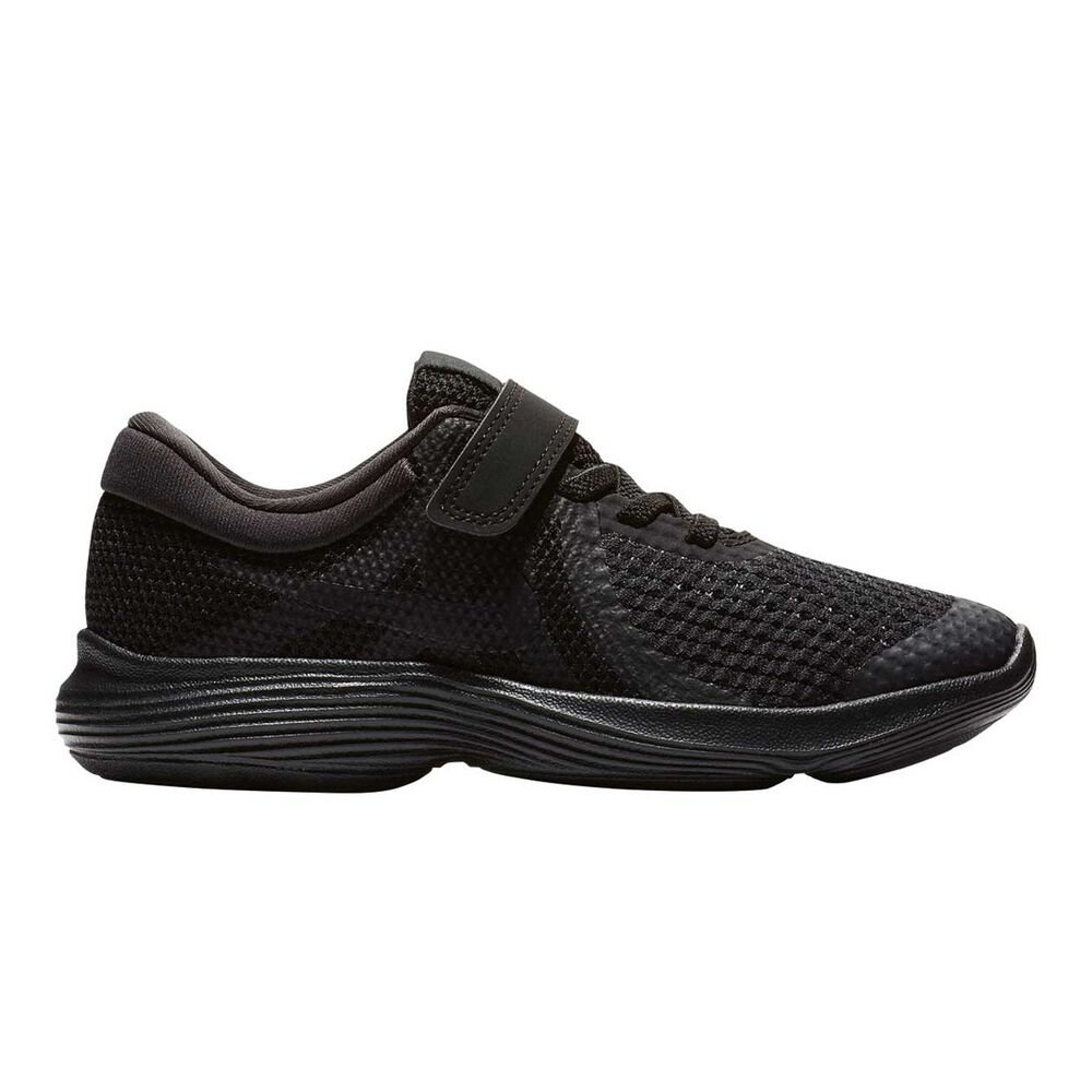 cb2c64f050 Nike Revolution 4 Junior Boys Running Shoes Black US 11