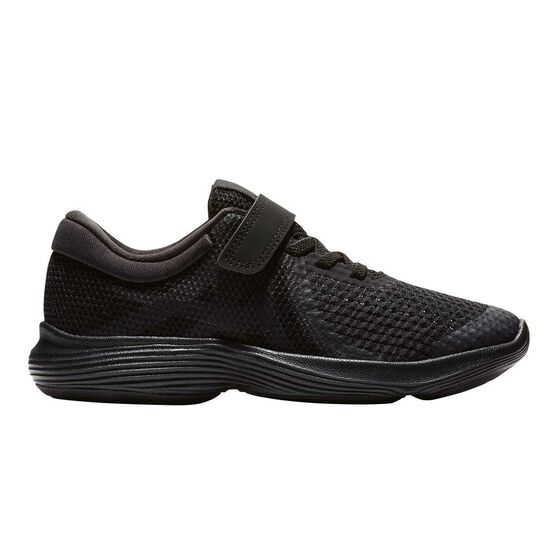 d3d24f53c0 Nike Revolution 4 Junior Boys Running Shoes Black US 11, Black, rebel_hi-res