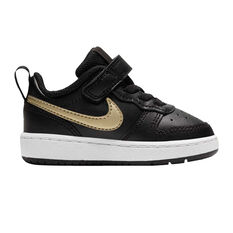 Nike Court Borough Low 2 Toddlers Casual Shoes Black US 4, Black, rebel_hi-res
