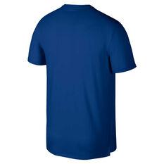 Nike Mens Dri-FIT Miler Running Tee Blue / Navy S, Blue / Navy, rebel_hi-res