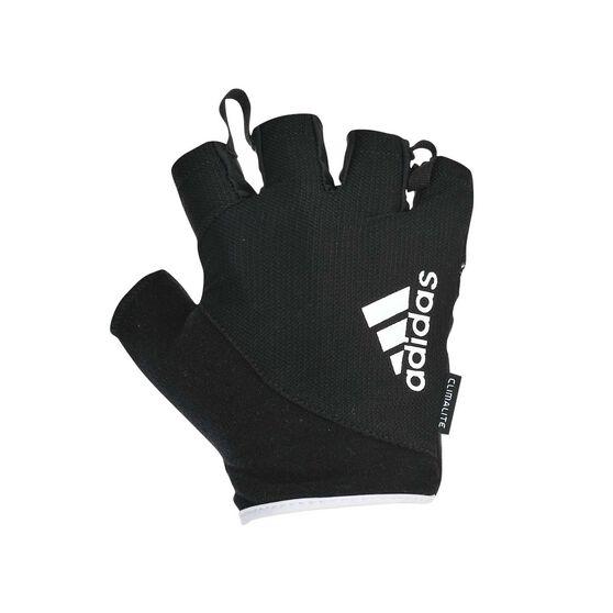 adidas Essential Weight Training Gloves, White, rebel_hi-res