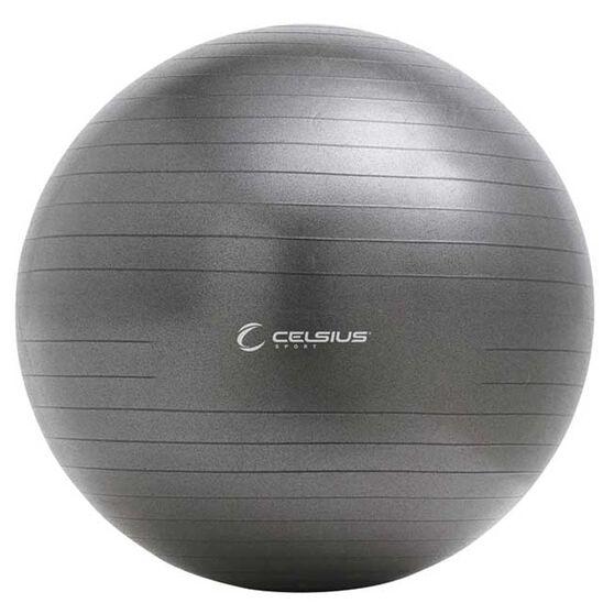 Celsius Fit Ball Pro Exercise Ball 55cm Charcoal, , rebel_hi-res