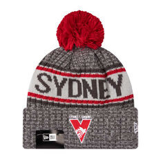 Sydney Swans New Era 6 Dart Cuff Beanie, , rebel_hi-res