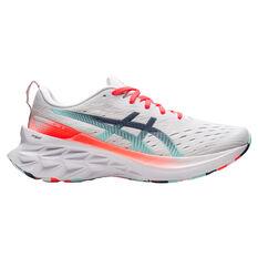 Asics Novablast 2 Celebration of Sport Womens Running Shoes White/Coral US 6, White/Coral, rebel_hi-res
