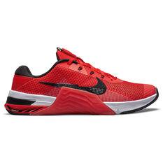 Nike Metcon 7 Mens Training Shoes Red/Black US 7, Red/Black, rebel_hi-res